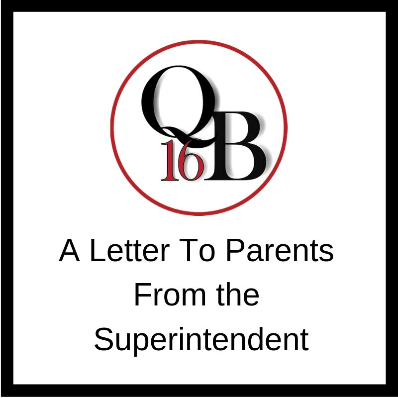 Superintendent's Update - May 19, 2020